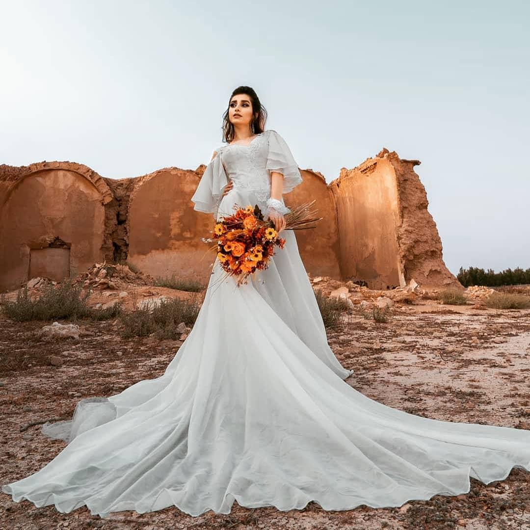 لباس عروس لیوزا
